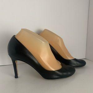 Ann Taylor Black Leather Pumps